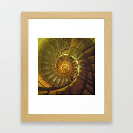 One More Step Framed Art Print