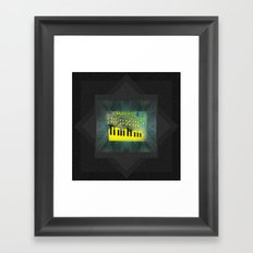 Futuretro Space Framed Art Print
