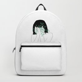 A little bit dissapointed in humanity / Illustration Backpack