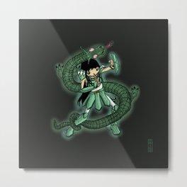 Dragon Shiryū Metal Print