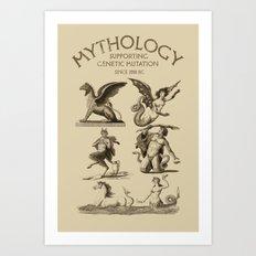 Mythology Art Print