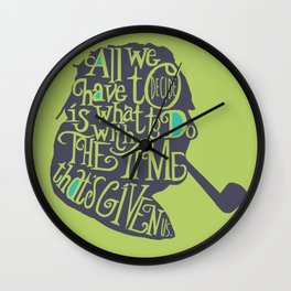 The Time That's Given Wall Clock