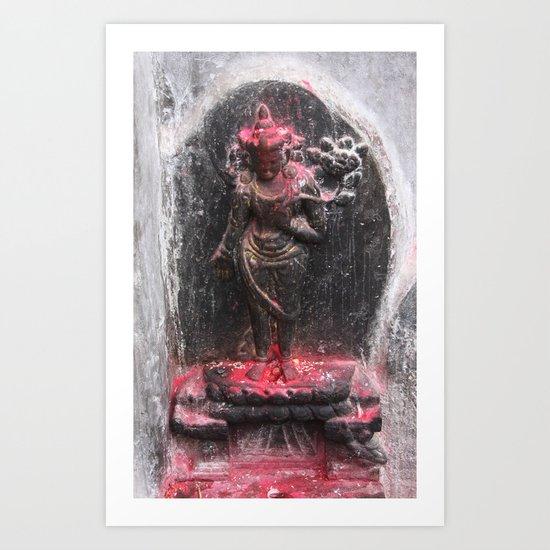 Bodhinath Shrine - 2 of 6 Art Print