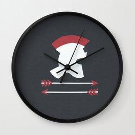 Roman Helmet Wall Clock