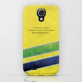 Ayrton Senna - I have no idols iPhone Case