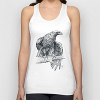 falcon Tank Tops featuring Falcon illustration by Thubakabra