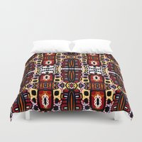 bug Duvet Covers featuring Bug Pattern by k_c_s