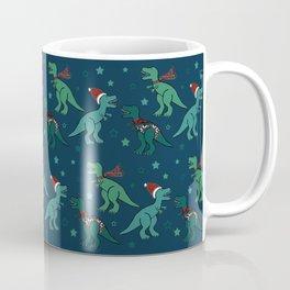 Holiday T-Rex Coffee Mug