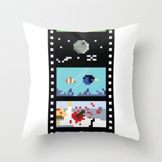 Blockbusters I Throw Pillow