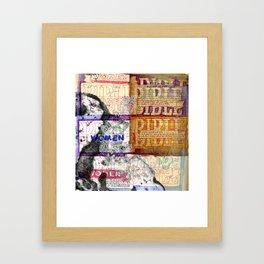 Bible Women Framed Art Print