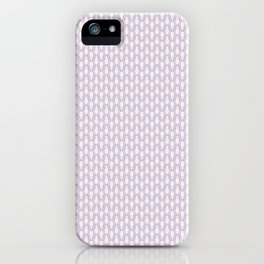 Knit seamless pattern, winter pullover effect iPhone Case