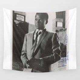 Sidney Poitier KBE - Actor Film Director Shop Society6 Online Photography BLM yy67 Wall Tapestry