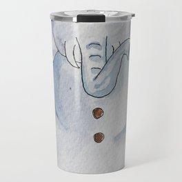 Snow Elephant Travel Mug