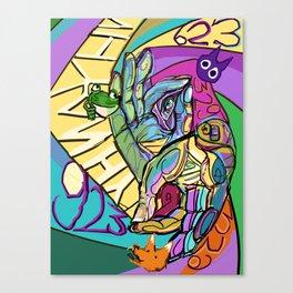 923923923923923923 Canvas Print