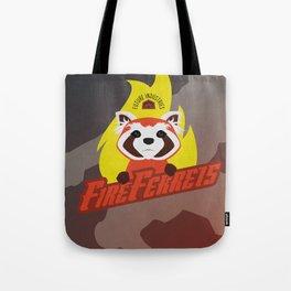 Future Industries Fire Ferrets Tote Bag