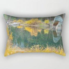 Merced River Fall 2 Rectangular Pillow