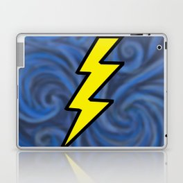 Lightning Swirl Laptop & iPad Skin