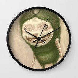 Smile No Matter What Wall Clock