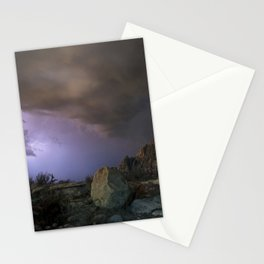approaching pavonis mons Stationery Cards