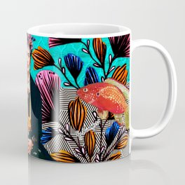 Frida´s secret smile Coffee Mug