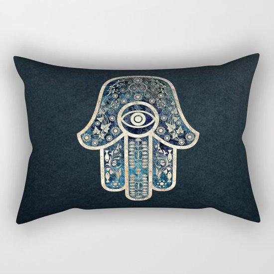 Hamsa 2 Rectangular Pillow