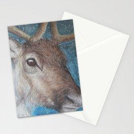 Reindeer (Rangifer tarandus) Stationery Cards