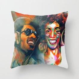 Stevie Whitney Throw Pillow