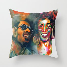 Stevie Whitney Throw Pillow