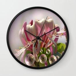 Flowers maid Wall Clock