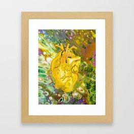 Jaundice Heart Framed Art Print