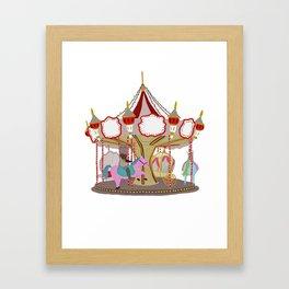 Caroussel  Framed Art Print