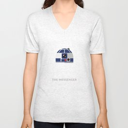 SW R2-D2 The Messenger Unisex V-Neck