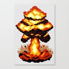 Digital Destruction Canvas Print