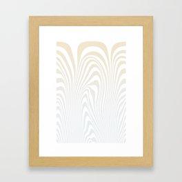 Pulling Framed Art Print