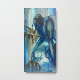 The Blue Giant Metal Print