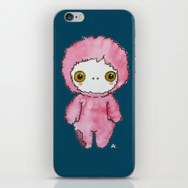 Moonkhin 1 (pink tranquil) iPhone Skin