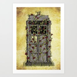 Rose- Doctor Who Art Print