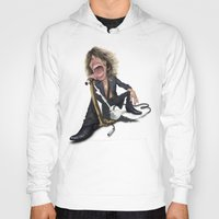 tyler spangler Hoodies featuring Steven Tyler by Sant Toscanni