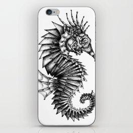 Steampunk Seahorse iPhone Skin
