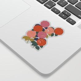 Flowers In Full Bloom Sticker