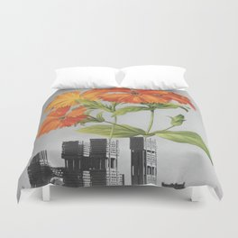 """255 - """"a tree grows in Brooklyn"""" Duvet Cover"""