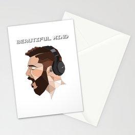 beautiful mind Stationery Cards