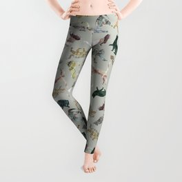 Marble Cats Leggings