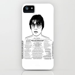 Liam Gallagher - 'Brotherly Love' - Ink'd Series iPhone Case