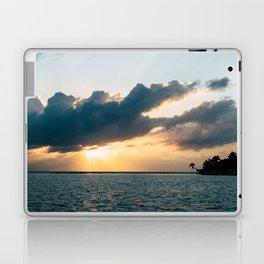 Island Sunset Laptop & iPad Skin