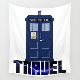 Doctor Travel Wall Tapestry
