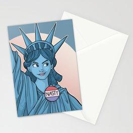 Nasty Lady Liberty Stationery Cards