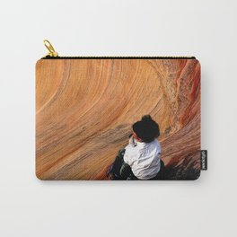 Sitting In Solitude Carry-All Pouch