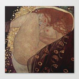 Danae  - Gustav Klimt Canvas Print