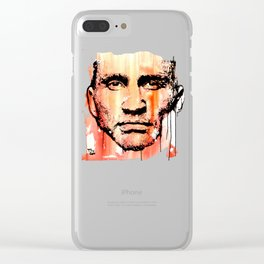 The fighter Clear iPhone Case